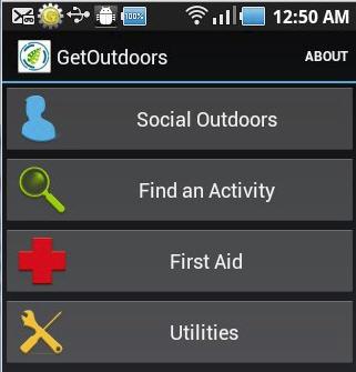 Get Outdoors Smartphone App