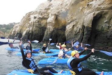 Crawford Adventure Club kayaking