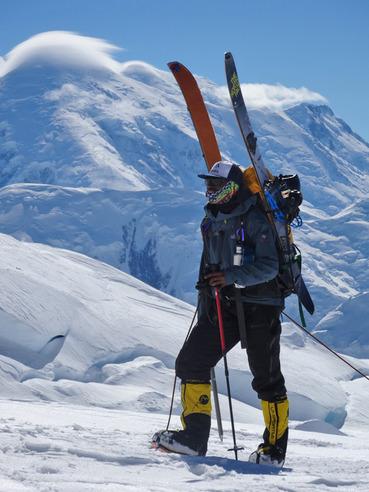Ryan Hudson's Denali Adventure - Photo courtesy of Jeremy Jones