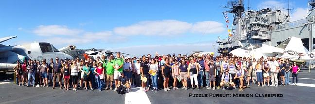 Puzzle Pursuit 2013, group photo