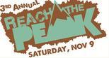 Reach the Peak, Saturday November 9th