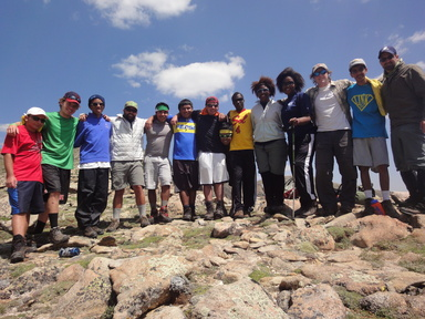 SOS Outreach CO Backpacking Trip
